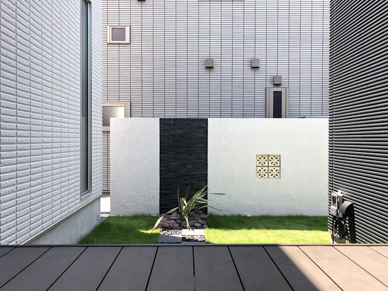 Resort connected from Deck ―デッキから広がる my Garden―