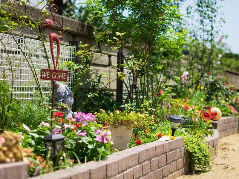 お客様が創り上げるお庭