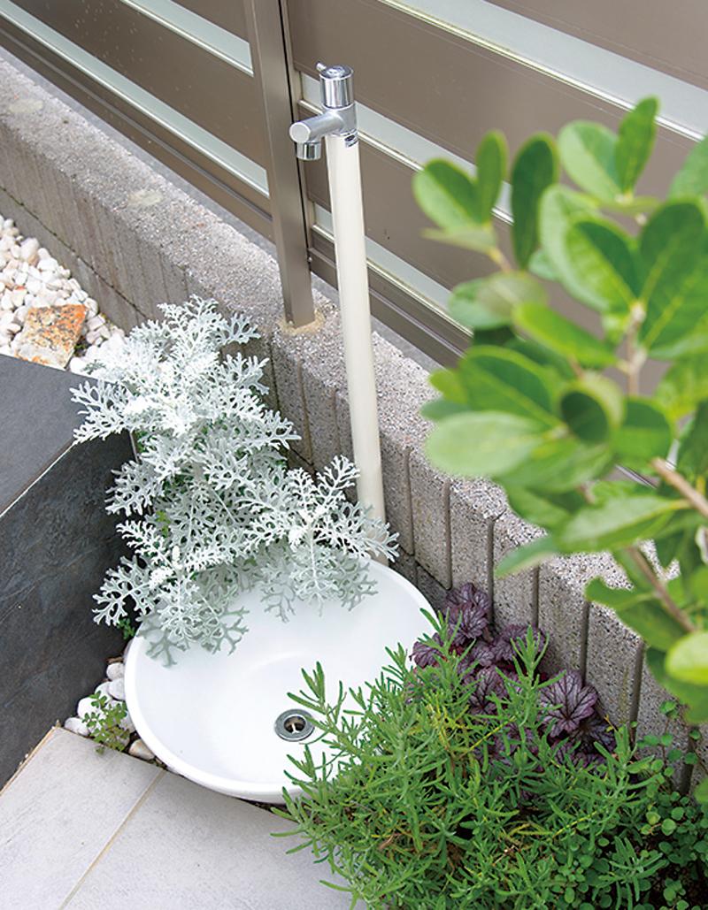 立水栓&ベンチ